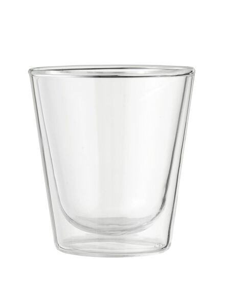dubbelwandig glas 10cl - 80682145 - HEMA