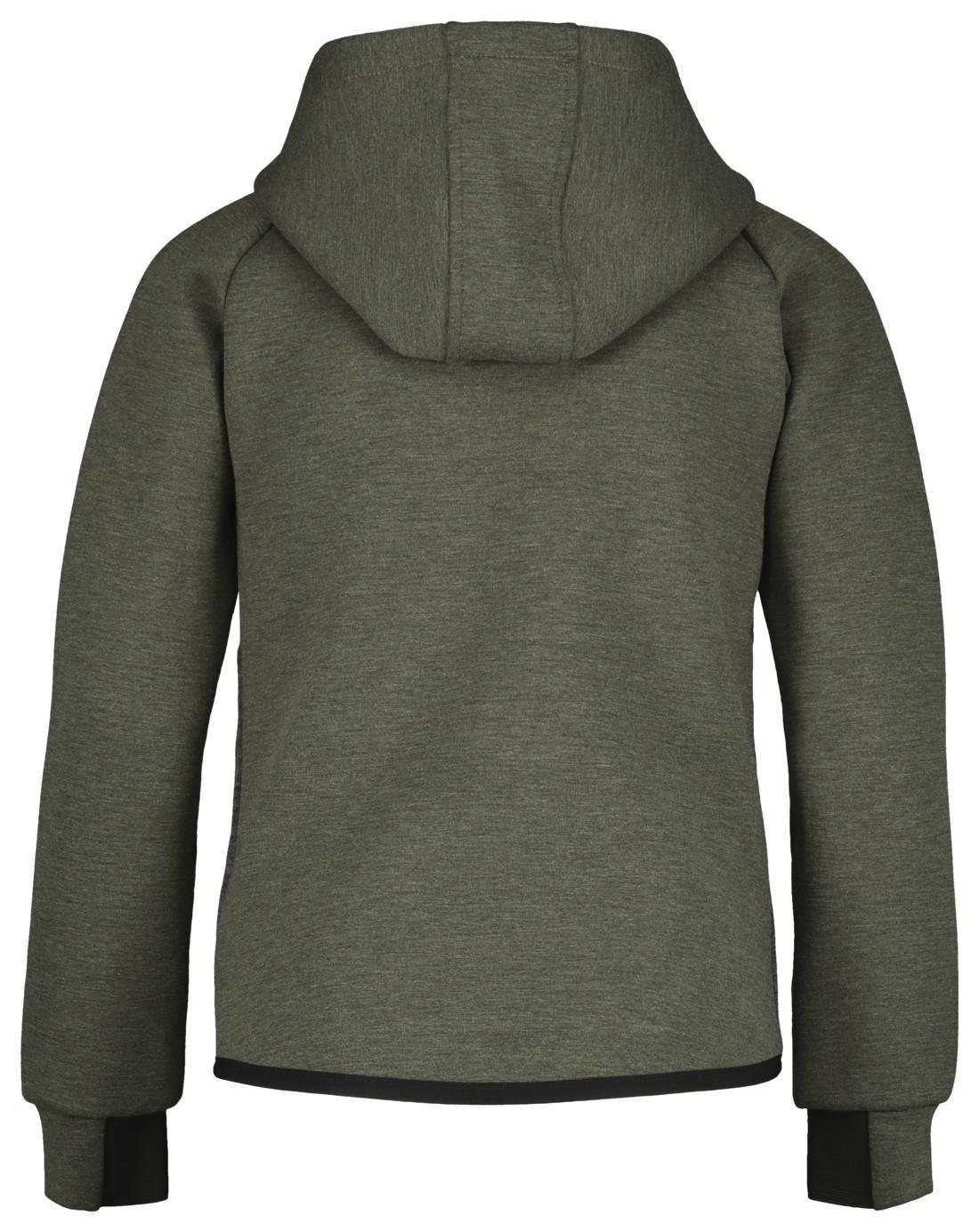 kinder fleece vest groen HEMA
