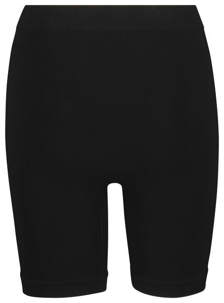 damesboxer light control bamboe zwart zwart - 1000019522 - HEMA