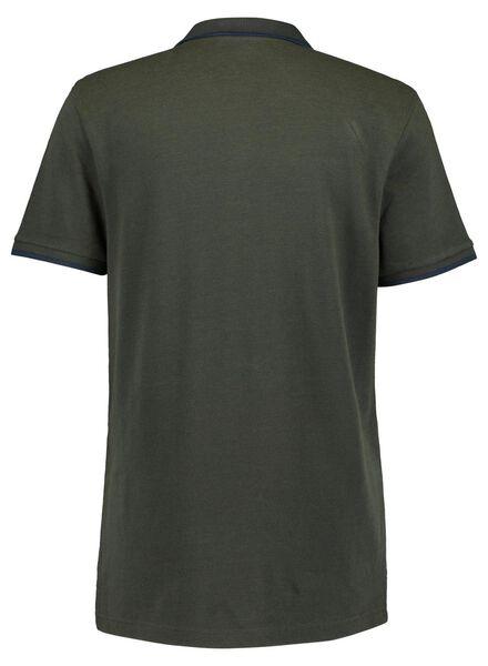 herenpolo groen groen - 1000016761 - HEMA