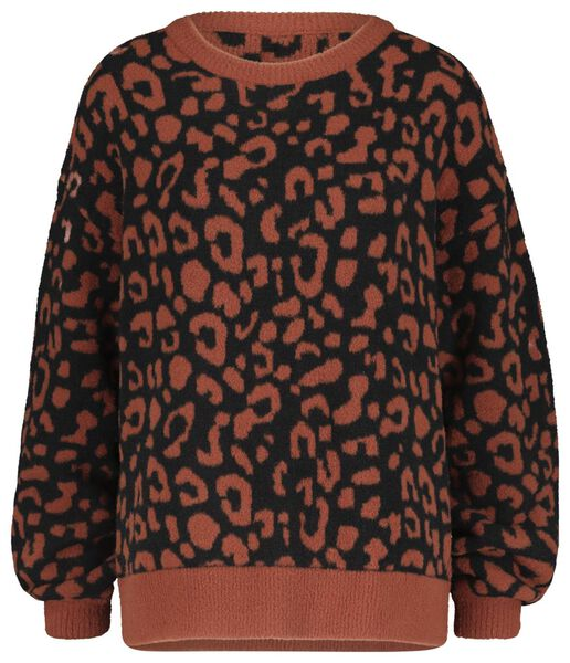 damestrui luipaard bruin bruin - 1000020613 - HEMA