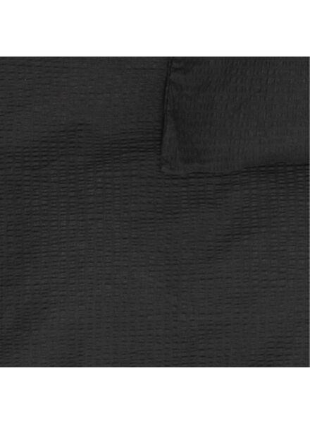 dekbedovertrek - 200 x 200 - zacht katoen - donkergrijs donkergrijs 200 x 200 - 5710153 - HEMA
