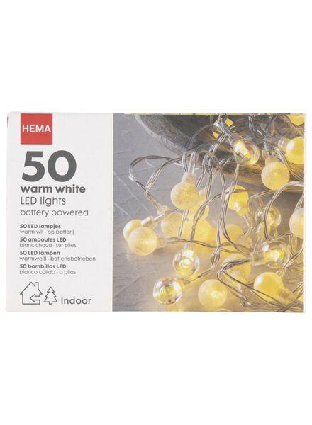 LED lichtsnoer - warm wit - 5.1 meter - 25530018 - HEMA