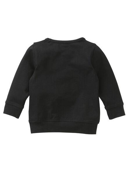 baby sweater zwart zwart - 1000004696 - HEMA