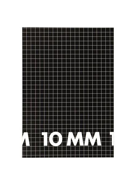 Schriften A4 - geruit 10 mm - 3 stuks - in Schriften
