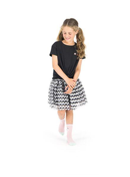 kinder t-shirt zwart zwart - 1000013540 - HEMA