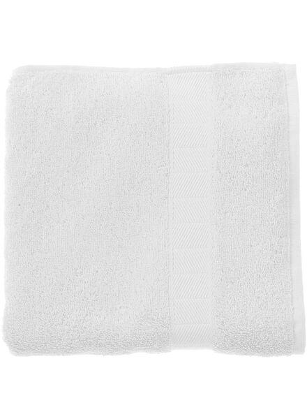 handdoek - 70 x 140 cm - zware kwaliteit - wit - 5214600 - HEMA