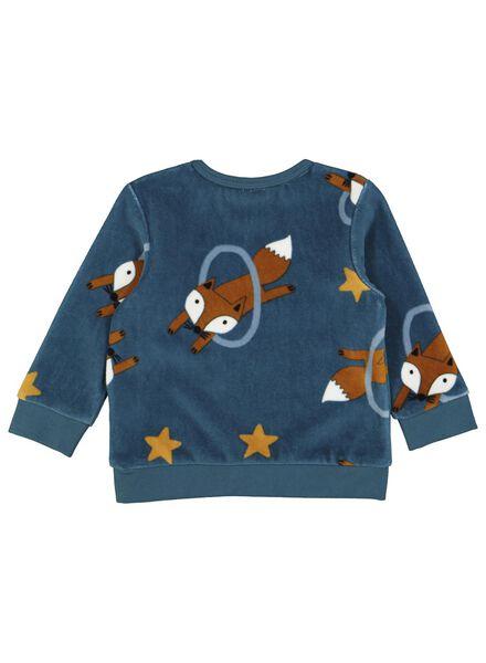 babysweater donkergroen donkergroen - 1000016891 - HEMA