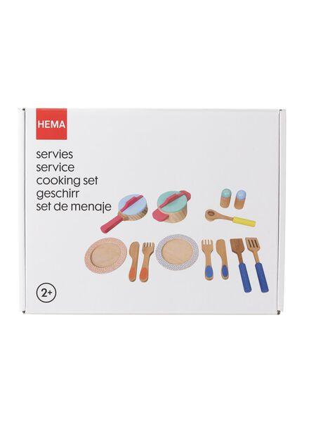 houten servies - 15190033 - HEMA