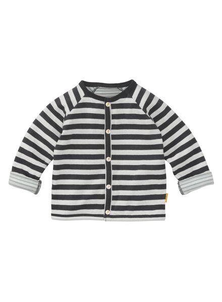 newborn jasje zwart zwart - 1000010454 - HEMA