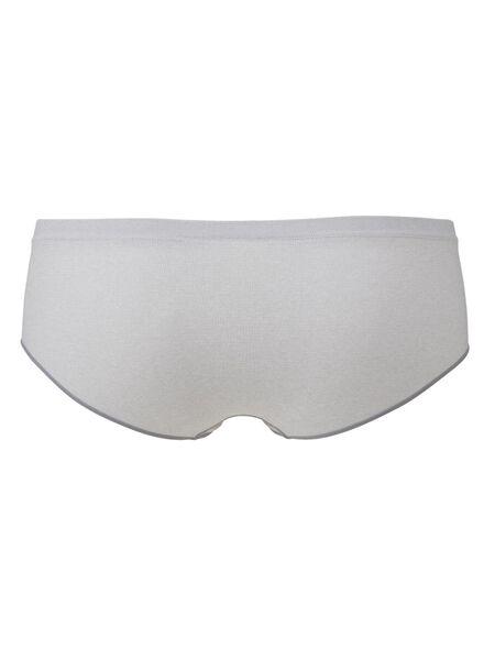 dameshipster naadloos grijsmelange grijsmelange - 1000006547 - HEMA