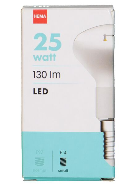 LED lamp 25W - 130 lm - reflector - helder - 20020038 - HEMA