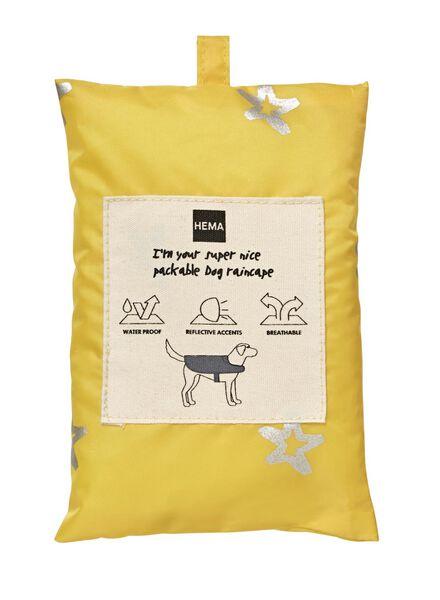 regencape voor honden geel geel - 1000010186 - HEMA