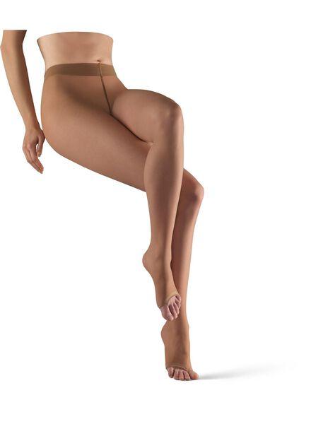panty zonder tenen 7 denier naturel 44/46 - 4042408 - HEMA