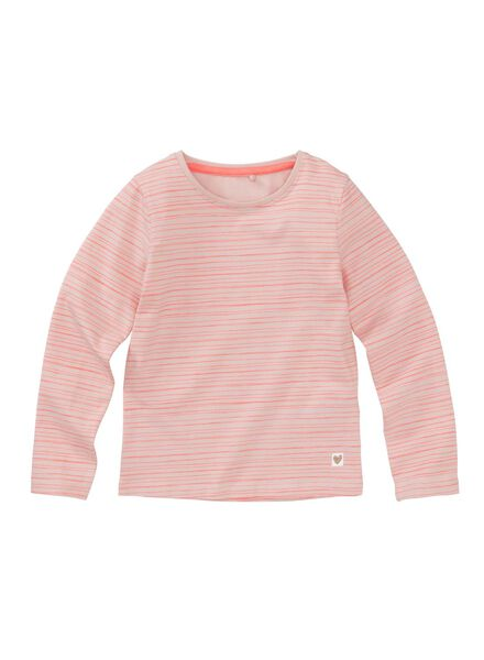 2-pak kinder t-shirts lichtroze lichtroze - 1000005755 - HEMA