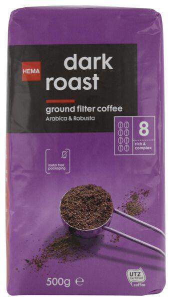 filterkoffie dark roast - 500 gram - 17170003 - HEMA