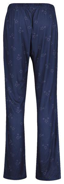 dames pyjama donkerblauw donkerblauw - 1000017385 - HEMA