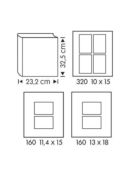 foto plakboek 32.5x23.2 blauw - 14630213 - HEMA