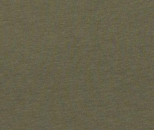 damessinglet biologisch katoen olijf olijf - 1000019351 - HEMA