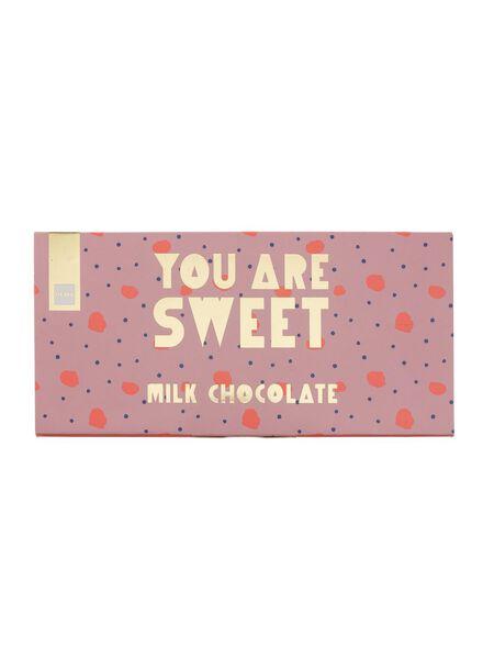 melkchocoladereep you are sweet - 60900229 - HEMA