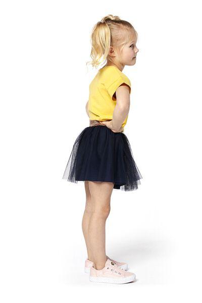 kinder t-shirt eenhoorn geel - 1000017762 - HEMA