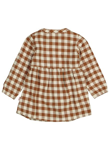 babyjurk flanel bruin bruin - 1000015319 - HEMA