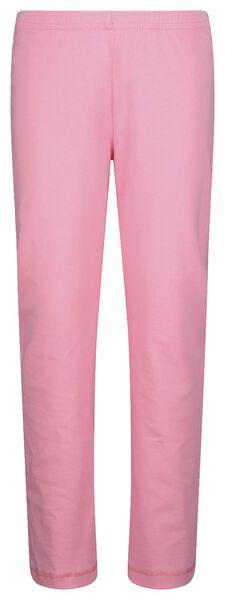 kinderpyjama hartjes roze 98/104 - 23000602 - HEMA