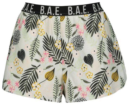 B.A.E. dames nachtshort lichtroze lichtroze - 1000019861 - HEMA