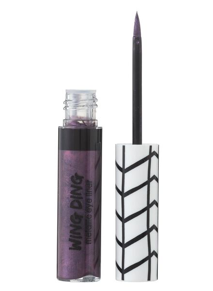 eyeliner metallic donkerblauw - 11210011 - HEMA