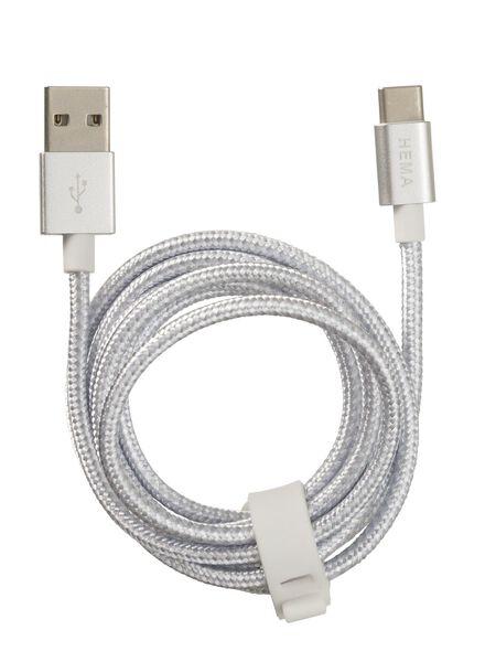 USB laadkabel type C - 39650030 - HEMA