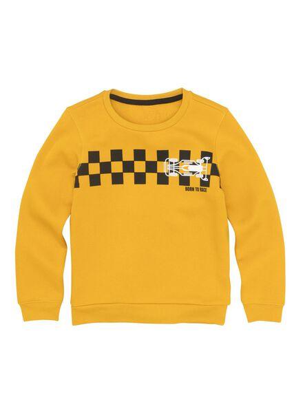kindersweater geel geel - 1000011336 - HEMA