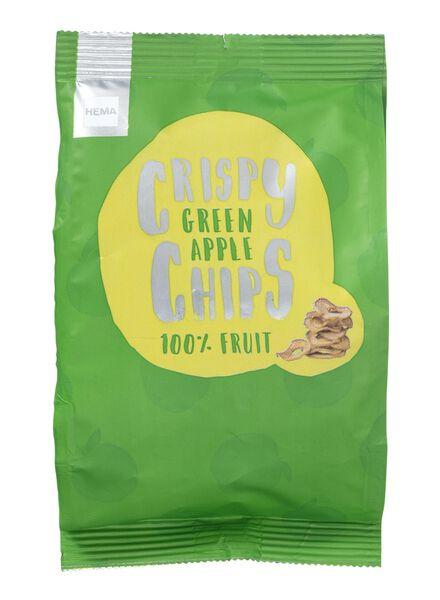 fruitchips - groene appel -20 gram - 60910024 - HEMA
