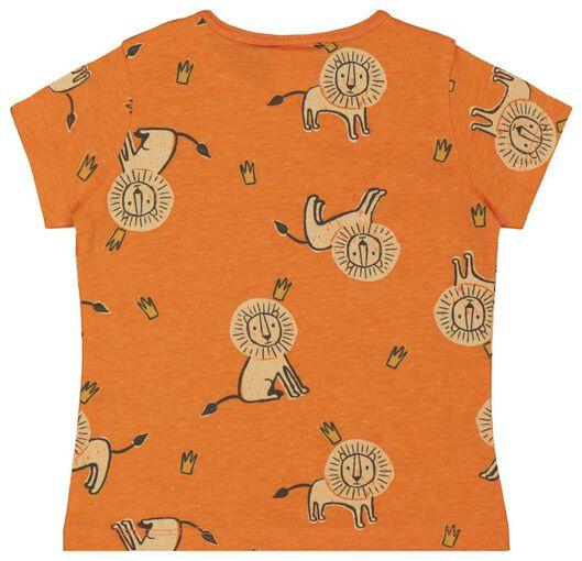 baby t-shirt oranje oranje - 1000018072 - HEMA