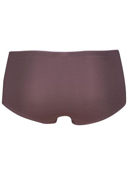 damesknicker micro second skin paars paars - 1000014663 - HEMA
