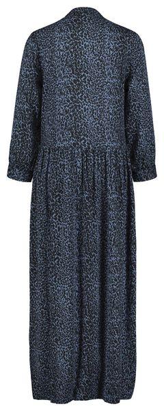 damesjurk blauw blauw - 1000021573 - HEMA