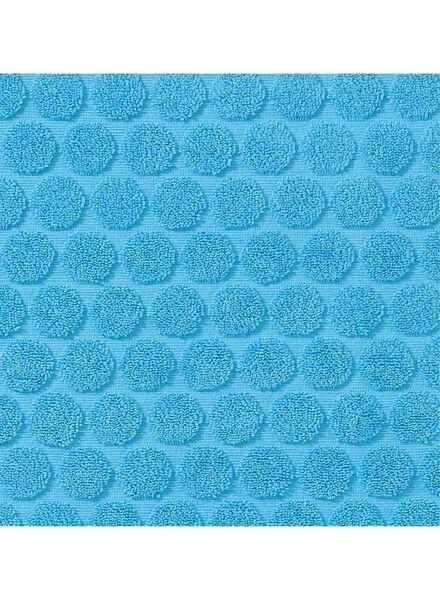 badmat zware kwaliteit - stip - aqua - 5200029 - HEMA