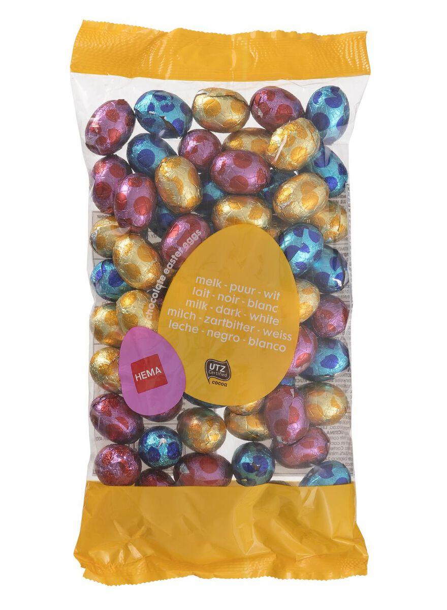 Pasen op budget - Chocolade paaseitjes