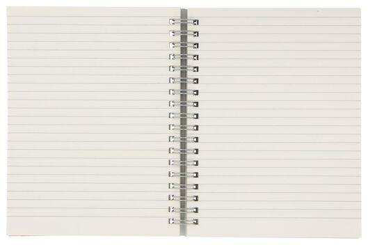 notitieboek gelinieerd 16.5x13 insteekvak - 14150057 - HEMA