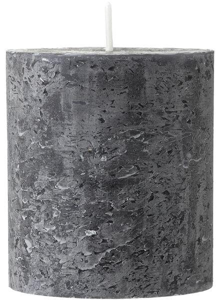 rustieke kaars 7 x 8 cm - 13502008 - HEMA