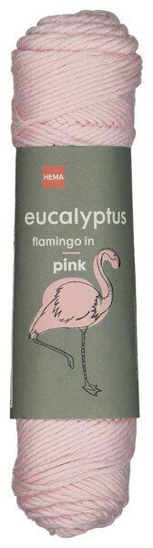 brei en haakgaren eucalyptus 50gr/83m roze roze eucalyptus - 1400209 - HEMA