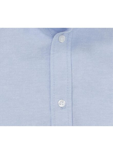 heren overhemd lichtblauw lichtblauw - 1000012238 - HEMA