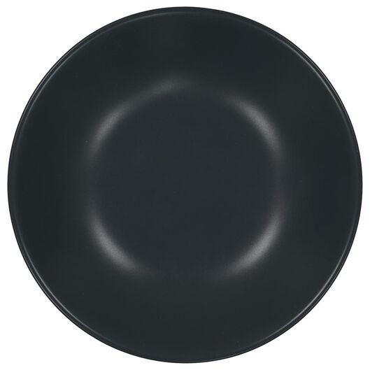 diep bord - 21 cm - Amsterdam - mat grijs - 9602008 - HEMA