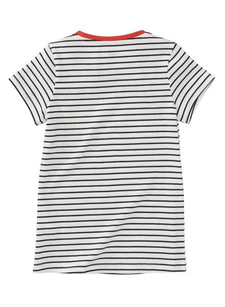kinder t-shirt donkerblauw donkerblauw - 1000008476 - HEMA