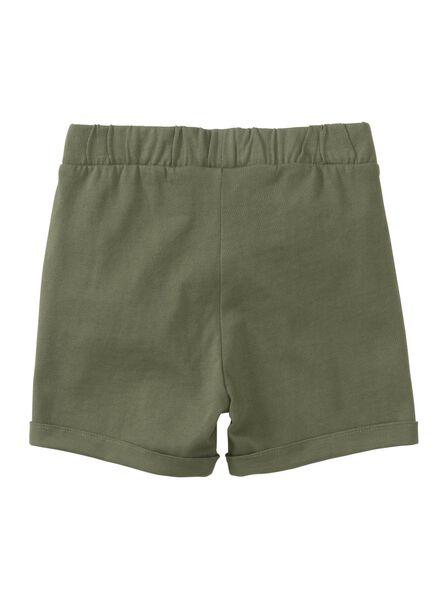 baby shorts - 2 stuks groen groen - 1000013379 - HEMA