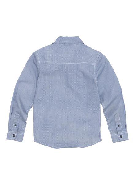 kinderoverhemd lichtblauw lichtblauw - 1000011047 - HEMA