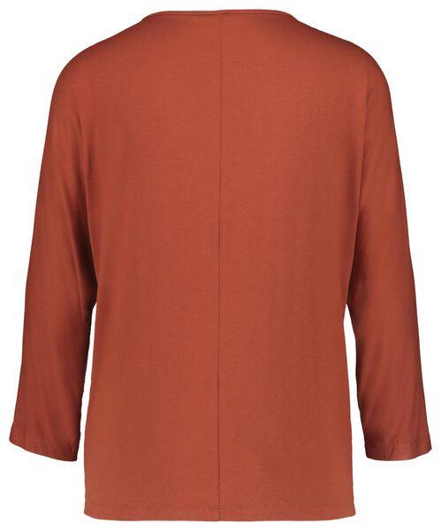 dames top bruin bruin - 1000017075 - HEMA
