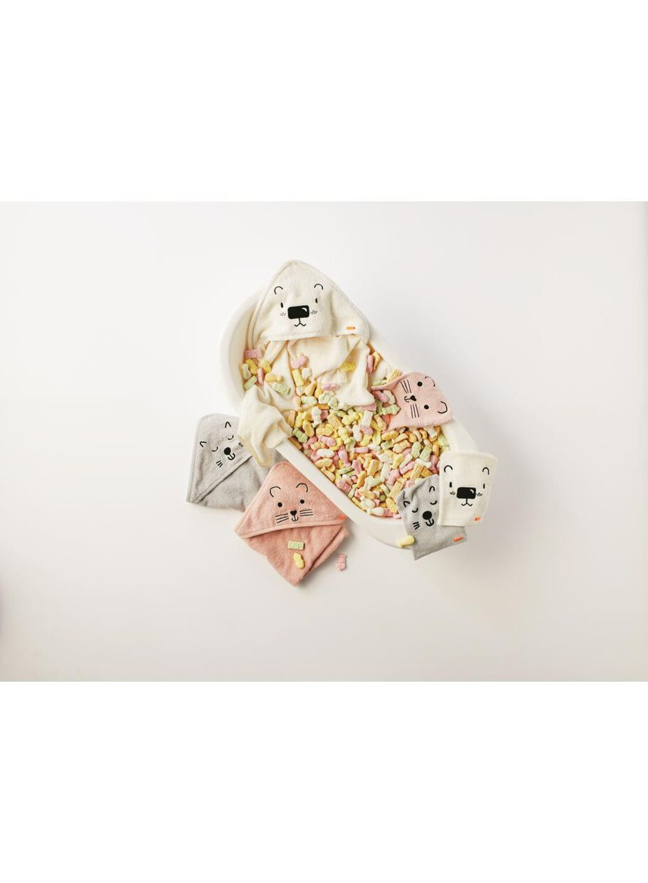 Handdoek Cape Hema.Baby Badcape 70 X 70 Cm Hema