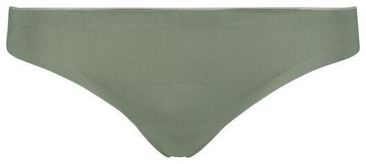damesstring second skin micro groen groen - 1000018628 - HEMA