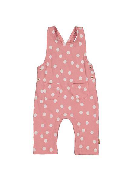 newborn jumpsuit roze roze - 1000013691 - HEMA