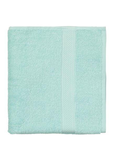 handdoek - 60 x 110 cm - zware kwaliteit - mintgroen uni - 5240003 - HEMA